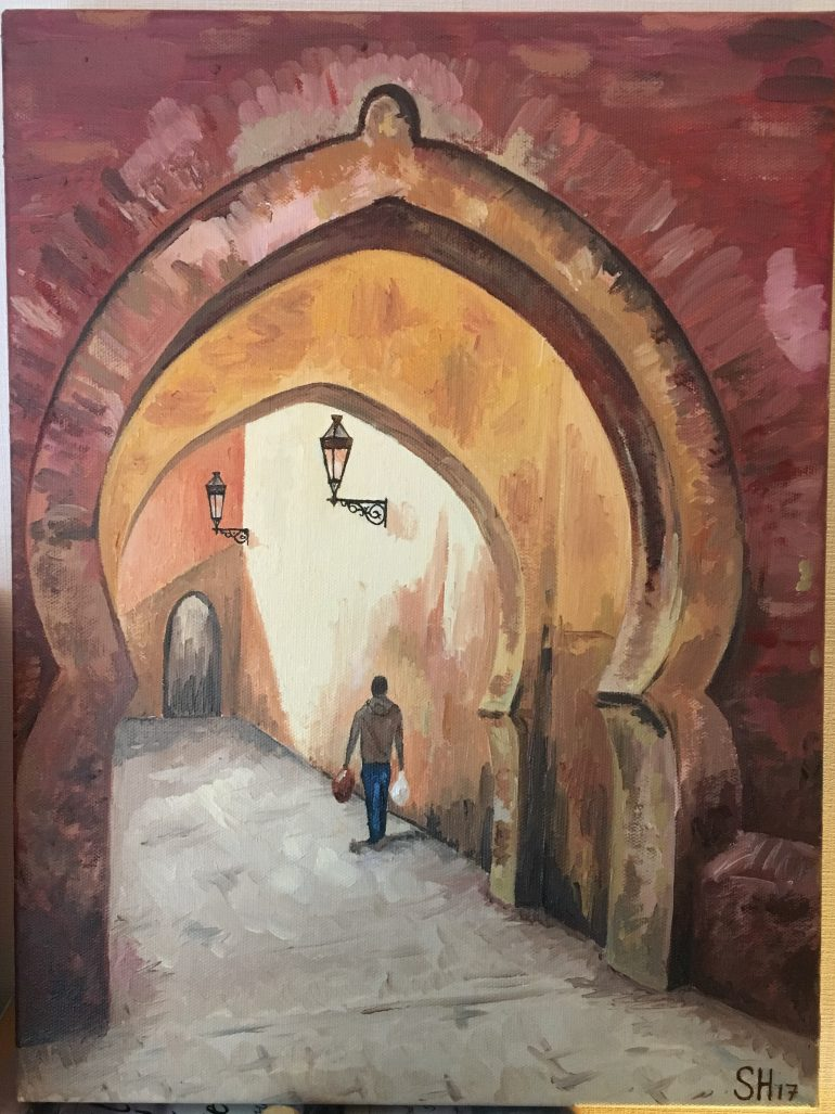 Moroccan Archway – Samuel Hampton for Moroccan Archway  579cpg