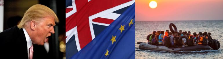 2016 - Trump, Brexit, Migration